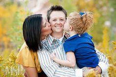 Family Portrait, holiday card idea, lesbian love  #red rock mountian #calico basin #Las Vegas photographer | photo by Mona Shield Payne