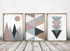 Wandkunst-Drucke abstrakte Kunst Drucke geometrischen