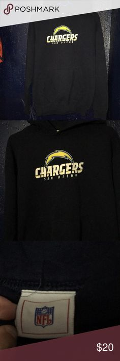 Chargers sweater Good condition, fast shipping, color dark blue NFL Sweaters