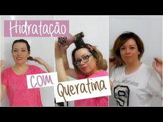 Hidratação com Queratina | Preparando o cabelo para a descoloração