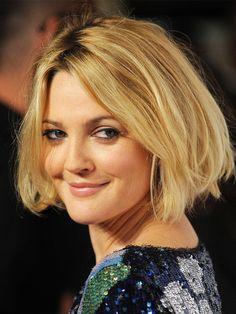 Ganz großes Kino,Drew Barrymore!Die Schauspielerin trägt ihren Bob extra kurz,extra-voluminös und mit extra vielen Highlights.