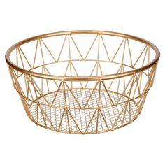 Small Round Metal Basket By Ashland