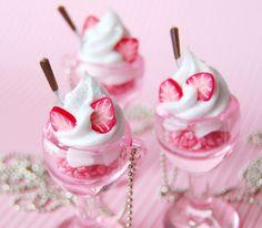 Desserts roses