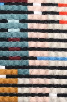 Modern Embroidery, Hand Embroidery, Modern Tapestries, Textiles Techniques, Needlepoint Stitches, Bargello, Loom Weaving, Yarn Crafts, Woven Rug
