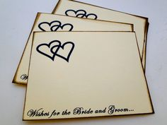 Wedding Guest Book Alternative Cards  Set of by TheTrendySparrow, $18.00