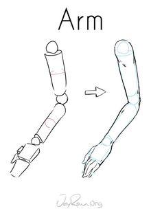 How to Draw the Arm - JeyRam Art