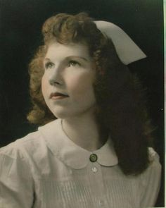 Mary Ann Lindbloom Graduate of Grant Hospital School of Nursing Chicago, 1953.