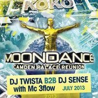 Twista B2b Sense Moondance Camden Palace 2013 - 92-93 old skool by dj twista uk on SoundCloud