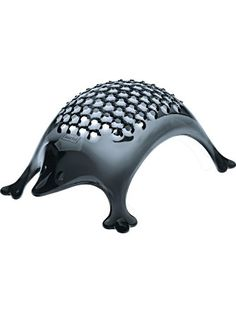 koziol KASIMIR Hedgehog Cheese Grater, transparent anthracite ❤ Koziol