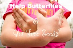 Here's How to Be a Butterfly Hero and Get Free Wildflower Seeds