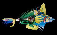 David Edgar-  plastiquarium-  Easter Fish