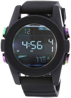 Nixon - Wristwatch, digitale al quarzo, plastica, Men *** You can find more details by visiting the image link.