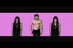 """""""30 Seconds to Mars - UP IN THE AIR"""" animation, by Colton kirkegaard"""