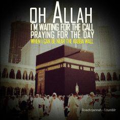 In sha Allah.  Allah has called me!
