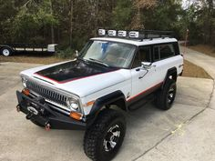 1977 Jeep Cherokee Chief S. It is a 41 year old Jeep, so you can expect to replace a pint or quart of fluid every now and then. Jeep Wagoneer, Jeep Xj, Jeep Pickup, Jeep Truck, Jeep Cherokee For Sale, Cherokee Chief, Jeep Cherokee Xj, Jeep Renegade, Cool Jeeps