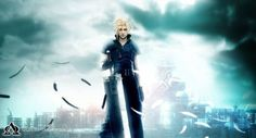 View an image titled 'Zack Promotional Art' in our Crisis Core: Final Fantasy VII art gallery featuring official character designs, concept art, and promo pictures. Final Fantasy Vii Remake, Final Fantasy Cloud, Final Fantasy Wallpaper Hd, Fantasy Series, The Witcher 2, Cloud Wallpaper, Wallpaper Keren, Windows Wallpaper, Monsters