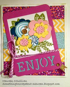Let's Give 'em Something to Scrap About!: CTMH-- SOTM Blog Hop #ArtfullySent #ConfettiWishes