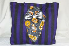 The big Jack Skellington tote on Etsy, designed by Forever Goth Jack Skellington, Diaper Bag, Goth, Big, Etsy, Design, Fashion, Goth Subculture, Gothic
