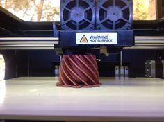 #3dprinter, 3DCPI-02 imprimiendo copper PLA #3dcpi