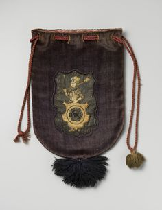 Vikings, Medieval Embroidery, Sweet Bags, Medieval Life, Marco Polo, Gold Work, Handmade Home, Pouch Bag, Saddle Bags