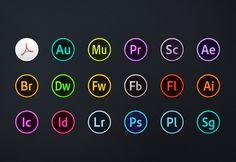 Adobe CC Circles Icons – Free Download