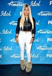 Nicki Minaj Leather Jacket