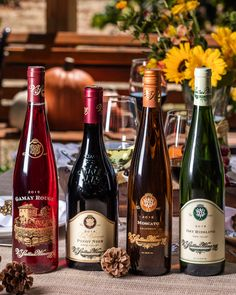 Four V Sattui Wines that go perfectly with a traditional Thanksgiving Dinner-- one great price-- $89.  Purchase online or at our winery in #NapaValley