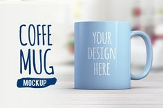 Coffee Mug Mockup by coloformia on @creativemarket | PSD Mockup | High Resolution Mockup |