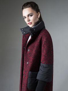 Пальто женское демисезонное цвет мультиколор, Пальтовая ткань, артикул…