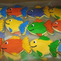 Cake Anatomy-Fish Cookies