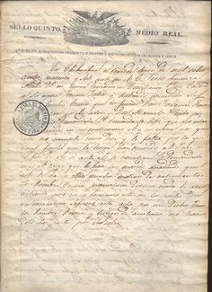 Judgement given by C. Jesus Espinosa - mayor of Chihuahua, Mexico - on January 13th, 1847, demanding reconciliation by Jorge Catano to his wife Tomara Zubia.