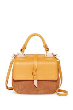 Obsessed with this Foley & Corinna Dione Leather Suede Saddle Bag