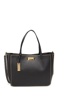 ZAC Zac Posen Women's Grommet Eartha Shopper Tote, Black, One Size -- To view further for this item, visit the image link. Shopper Tote, Tote Bag, Peep Toe Flats, Zac Posen, Shoulder Bag, Handbags, Fashion Design, Accessories, Shoes