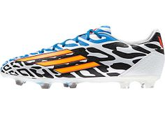official photos df7e0 07362 adidas Messi F30 FG Soccer Cleats - White and Neon Orange...At SoccerPro