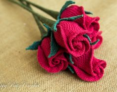 Closed Rose (Cup Shape) by designer Happy Patty. - via @Craftsy
