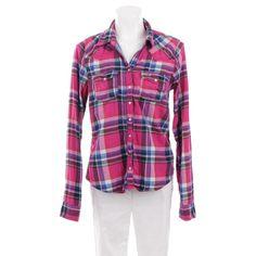 Wunderschöne Bluse von Hollister in Pink Gr. L - Wie NEU!