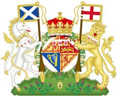 Coat of Arms of Anne, the Princess Royal (Scotland)