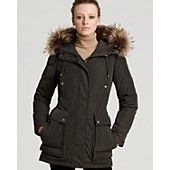 Andrew Marc Hooded Down Coat - would like to be wrapped in this coat this winter!!