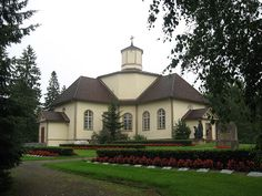 Joutsa church, Joutsa, Finland. Completed 1813. Finland, Mansions, House Styles, Decor, Decoration, Manor Houses, Villas, Mansion, Decorating
