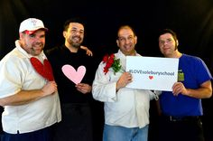 #SoleburySchool's dining hall staff, Joe, Pablo, Carmen and Anthony #LOVEsoleburyschool and we love them! Share #LOVEsoleburyschool with your friends and family.