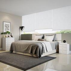 Kavin 2 Piece Bedroom Dresser and Nightstand Set Color: White - http://delanico.com/bedroom-sets/kavin-2-piece-bedroom-dresser-and-nightstand-set-color-white-665448509/