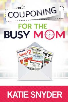 Free Kindle Book For A Limited Time : Couponing for the Busy Mom - Do you need to save $100, $200, or even $500 a month on your grocery bill?Maybe you've watched TLC's Extreme Couponing and decided to give couponing a go.Here's the problem. Extreme Couponing is just ridiculous! Extreme couponers are dedicating 40+ hours a week to save 90-99% on their grocery bills.But for us busy moms... there's just not enough hours in the day.There is hope for all of us! We CAN coupon and still save lots…