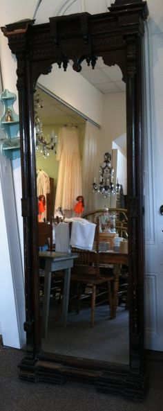 Circa 18501860 Victorian Eastlake Style Pier Hall by Shabadashery, $1795.00 WE HAVE THIS MIRROR! SURE DIDN'T PAY THAT MUCH! LOL