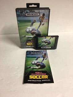 World Championship Soccer  (Sega Genesis, 1989) Complete  | eBay
