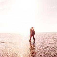 Dreamy Beach Engagement Shoot - Bridal Musings Wedding Blog