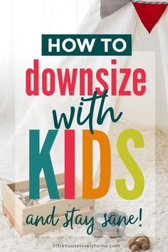 If you're interested in downsizing with a family, this is the very first blog post I wrote about our decision to downsize. Cheap Daycare, Small Space Living, Small Spaces, Post Natal Care, Downsizing Tips, Home Organization Hacks, Organizing, Declutter Your Mind, Creative Storage