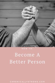 Simple Things You Can Incorporate Into Your Daily Routine To Become A Better Person: https://chronicallystrong.com/simple-things-you-can-incorporate-into-your-daily-routine-to-become-a-better-person/?utm_content=buffer2b315&utm_medium=social&utm_source=pinterest.com&utm_campaign=buffer