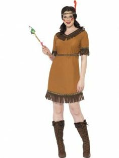 Indian Maiden Costume at funnfrolic.co.uk -£8.19
