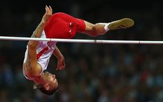Launch: paralympic high-jumpers simply develop explosive power with a single leg  Picture: GETTY IMAGES