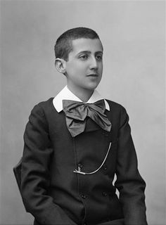 Marcel Proust as a child. Photograph by Félix Nadar, 1887.